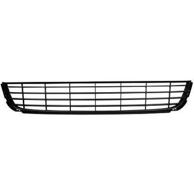 grille centrale de pare chocs avant noire de volkswagen. Black Bedroom Furniture Sets. Home Design Ideas