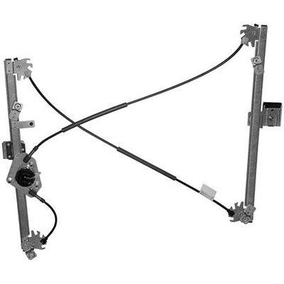mecanisme de leve vitre avant gauche electrique 2 portes sans moteur de renault de megane 2. Black Bedroom Furniture Sets. Home Design Ideas