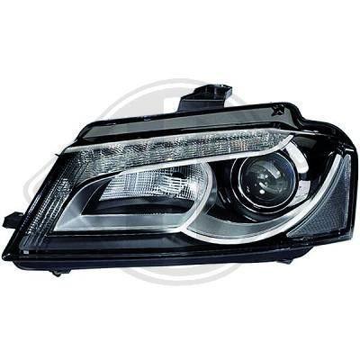 phare gauche lampe xenon d3s led de audi de a3 de 05 2008 a 05 2012. Black Bedroom Furniture Sets. Home Design Ideas